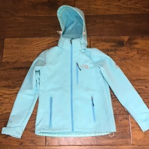 Fleece lined The North Face jacket
